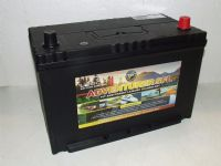 Leoch SFL-110L - 12v 110Amp Electric Fence Battery Low Height
